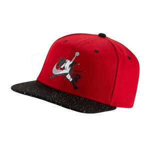 Jordan PRO Jumpman Snapback férfi Baseball sapka #piros