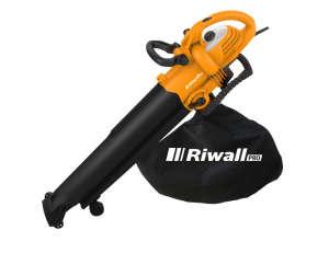 Riwall PRO REBV 3000 elektromos lombszívó/lombfúvó 3000 W motorral 31437550 Lombszívó és lombfúvó