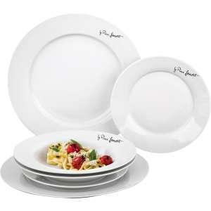 Lamart LT9001 KEREK tányérkészlet 6db 31437854 Tányér és evőeszközök