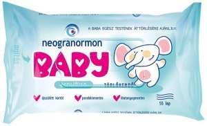 Neogranormon Baby Sensitive Törlőkendő 55db 31438526 Törlőkendő