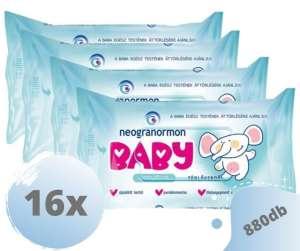 Neogranormon Baby Sensitive Törlőkendő 16x55db 31438553 Törlőkendő