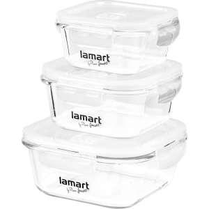 Lamart LT6012 ételtároló szett 3db 31438639 Étel-és italtároló