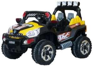 Baby Mix Race Elektromos terepjáró távirányítóval 12V #sárga-fekete