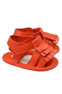 Boboli műbőr bébi Szandál, kocsicipő 1hó #narancssárga 31439110 Puhatalpú cipő, kocsicipő