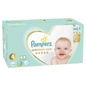Pampers Premium Care Mega Box havi Pelenkacsomag 9-14kg Maxi 4 (104db)