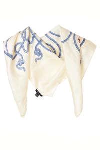 Gant kötél mintás selyem női kendő 31439454 Női sál, sapka, kesztyű