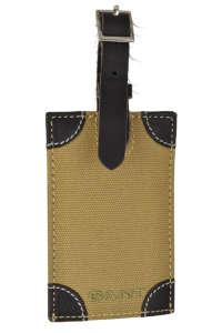 Gant barna vászon poggyászcímke 31439484 Kulcstartó gyerekeknek