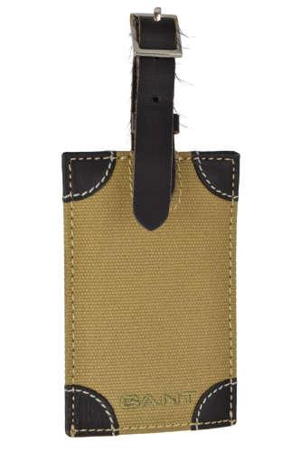 Gant barna vászon poggyászcímke