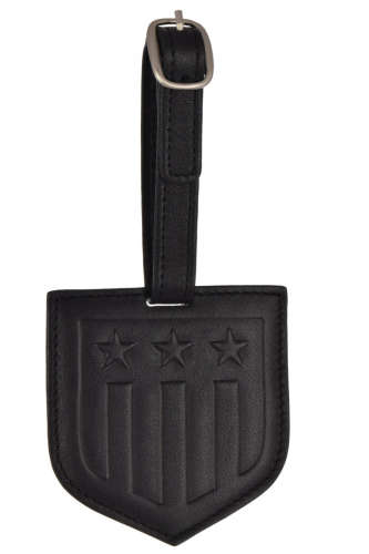 Gant fekete, pajzs alakú poggyászcímke