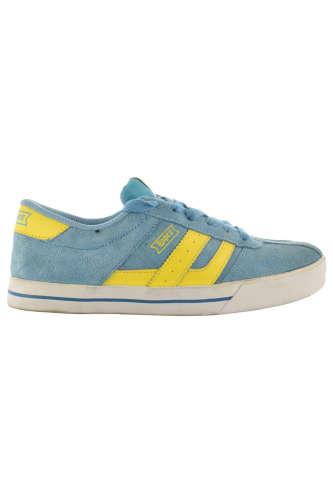 Lopez fiú Utcai cipő  #világoskék-citromsárga