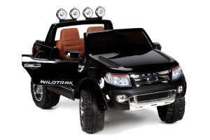 Baby Maxi Ford Ranger Prémium 2 személyes Elektromos terepjáró 12V #fekete 31440733 Elektromos jármű