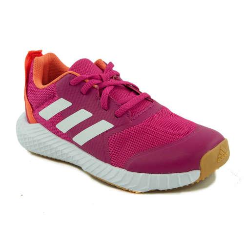 Adidas Fortagym K lány Teremcipő #pink-narancssárga-fehér