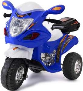 Funfit Kids 3 kerekű Elektromos motor hang-és fényeffekttel 6V #kék 31440909 Elektromos jármű