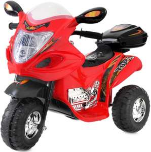Funfit Kids 3 kerekű Elektromos motor hang-és fényeffekttel 6V #piros 31440921 Elektromos jármű