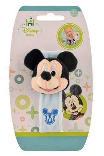 Disney plüss Csörgő karkötő - Mickey Mouse 31441011