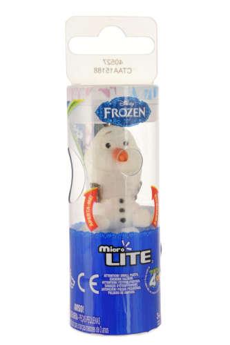 Jégvarázs Olaf világító hóember Figura 5cm