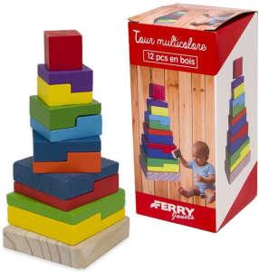 Ferry fa építőtorony készségfejlesztő játék 31441267 Fejlesztő játék bölcsiseknek