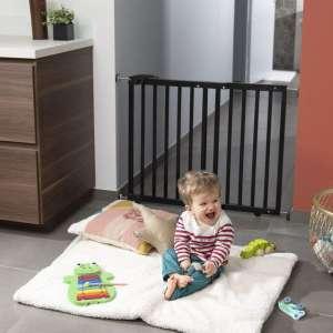 Badabulle Deco Pop fa Ajtórács #fekete 31444375 Biztonság a lakásban