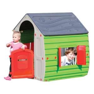Műanyag játszóház UV szűrővel #szürke-zöld 31444616 Játszósátor, játszóház, alagút