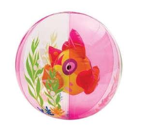 Intex Strandlabda 61cm - Halacska #rózsaszín