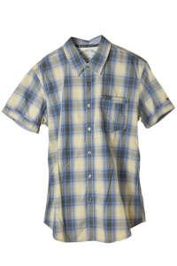 Tommy Hilfiger kék-drapp kockás férfi ing – L 31445306 Férfi ing
