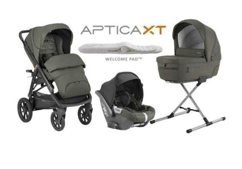 Inglesina Aptica XT System Quattro Cab I-Size 3in1 multifunkciós Babakocsi 2020 - Sequoia Green