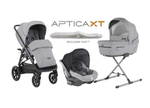 Inglesina Aptica XT System Quattro Cab I-Size 3in1 multifunkciós Babakocsi 2020 - Horizon grey