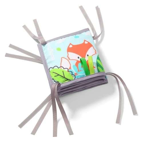 BabyOno könyv Friendly Forest puha Készségfejlesztő 84x15cm