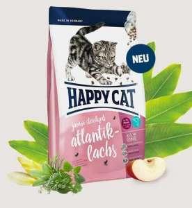 Happy Cat Junior Sterilised Atlantik-Lachs 300g 31447400 Macskaeledel
