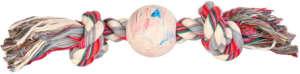 Trixie nagyméretű rágókötél közepén tömör gumilabdával (ø 7 / 36 cm)