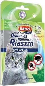 Panzi bolha- és kullancsriasztó nyakörv macskáknak (43 cm; Fekete) 31450890 Bolha- és kullancsriasztó termékek