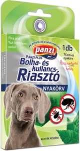 Panzi bolha- és kullancsriasztó nyakörv kutyáknak (75 cm; Sárga) 31450899 Bolha- és kullancsriasztó termékek