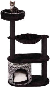 Trixie Giada macskabútor párnázott kilátóval, bújókuckóval és függőággyal (Magasság: 112 cm, Hosszúság: 38 cm, Szélesség: 65 cm)