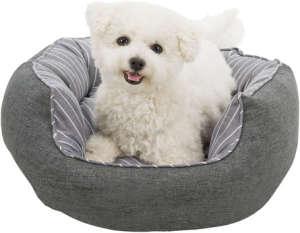 Trixie Finley csíkos mintájú peremes kutyafekhely (ø 50 cm)