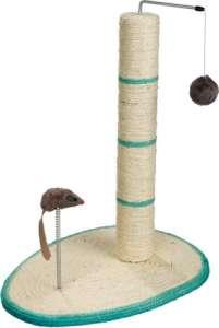 Trixie kaparófa függő labdával és rúgós egérrel (50 cm magas | 40 x 30 cm)