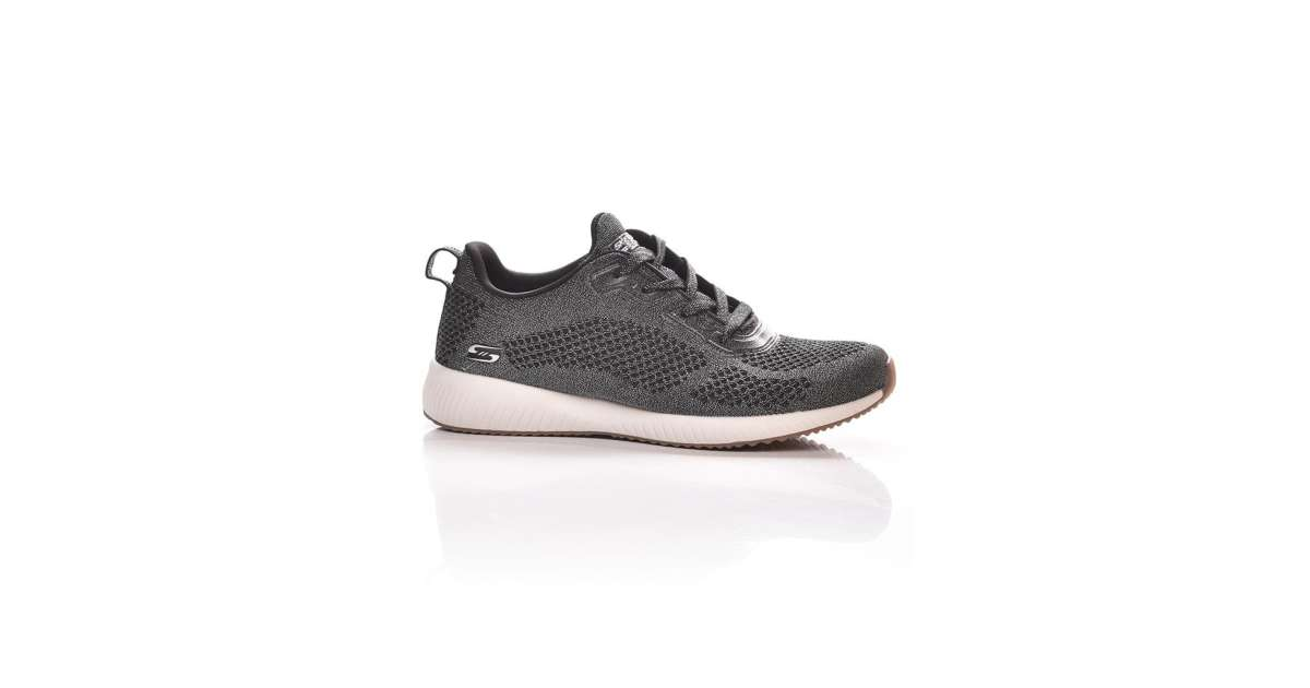 Skechers Bobs Squadglitz Maker női Utcai cipő #fekete