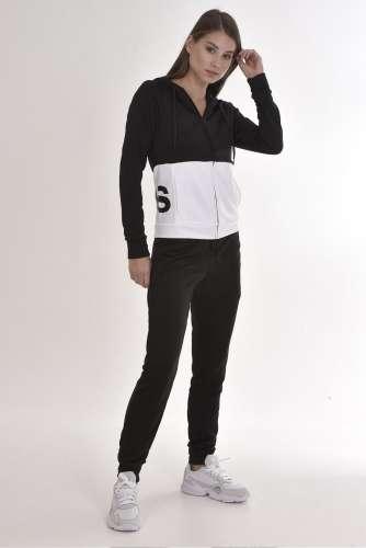 internacional Consciente de Deliberar  Adidas Performance Wts Lin Ft Hood női Melegítő szett #fekete   Pepita.hu