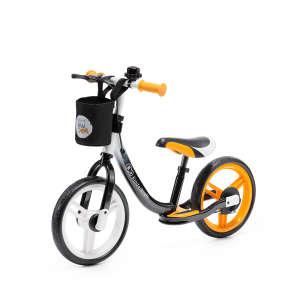 Kinderkraft Space Futóbicikli fékkel és lábtartóval #narancssárga