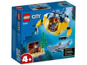 LEGO® City Oceans Óceáni mini-tengeralattjáró 60263 31488650 LEGO
