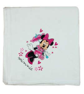 Disney Minnie textil-tetra kifogó-törölköző 140x140cm 31514041 140 x 140 cm