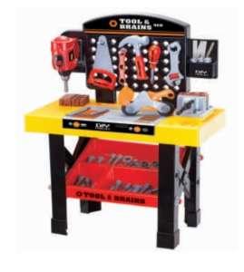 Műanyag Barkácsasztal kiegészítőkkel 31499425 Szerepjátékok