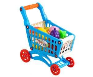 Műanyag Bevásárlókocsi kiegészítőkkel 31499506 Szerepjátékok