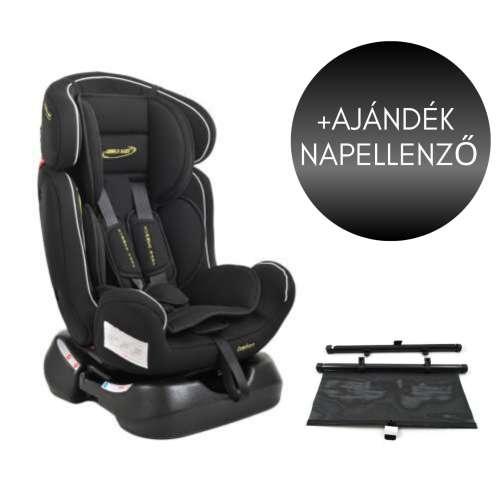 Summer Baby Comfort biztonsági Gyerekülés 0-25kg #fekete + Ajándék árnyékoló roló 31527329