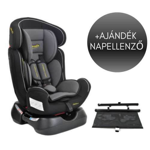 Summer Baby Comfort biztonsági Gyerekülés 0-25kg #szürke + Ajándék árnyékoló roló 31527326