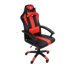 Hell Gamer Speed Gamer szék nyak-és derékpárnával #fekete-piros