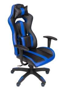 Hell Gamer Spider Gamer szék nyak-és derékpárnával #fekete-kék