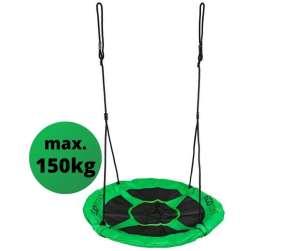 Ecotoys Fun acélvázas Fészekhinta 100cm #zöld 31501776 Szabadtéri játékok és felszerelések