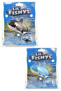 Lil' Fishys motoros bálna Fürdőjátékok 13cm 31502227 Fürdőjáték