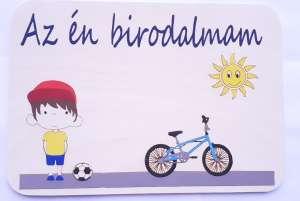 Lolo szobatábla - biciklis 31509311 Dekoráció