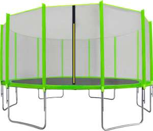 Aga Sport Top külső hálós Trambulin 488cm #világoszöld 31521803 Szabadtéri játékok és felszerelések